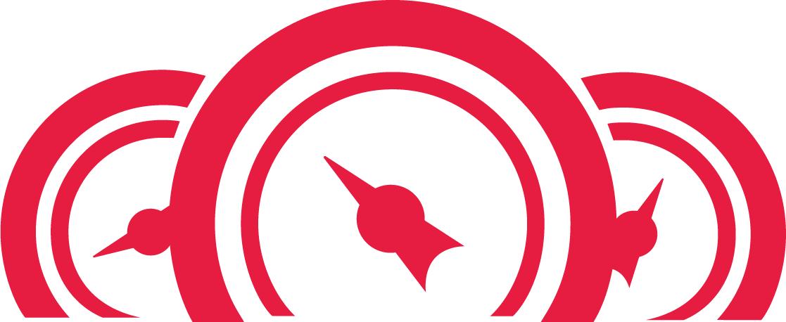 Rotes Icon für das Logo-Barometer
