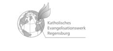 Logo des Katholischen Evangelisationswerks Regensburg