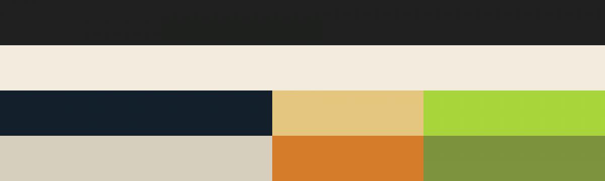 Die Farben der BFU GmbH in einem Raster
