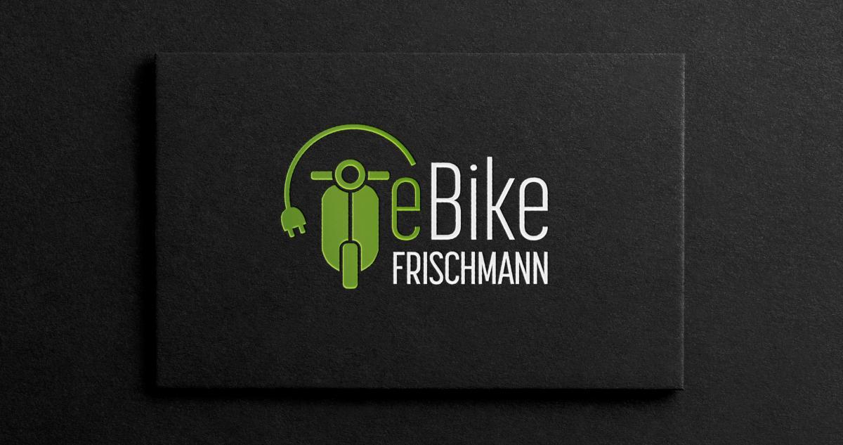 Logoanwendung von eBike Frischmann